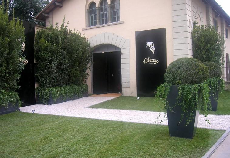 Pitti Uomo - ''Entrance Garden'' - for Arfango - Special Fittings