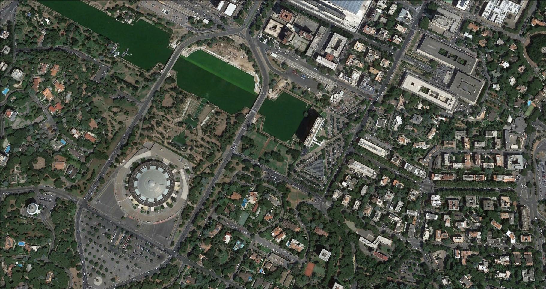 Municipality of Rome - EUR - فضاهای عمومی و شهربازی ها