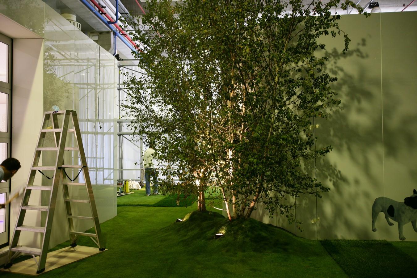 Abitare il Tempo - Giardino Formale in Chiave Contemporanea - per Arch. Simone Micheli - Allestimenti Speciali