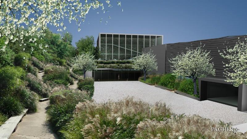 A new research centre with low environmental impact. - فضاهای عمومی و شهربازی ها