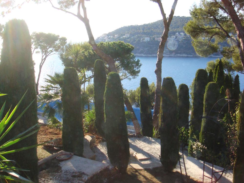 Un affascinante quadro sulla costa francese - Giardini