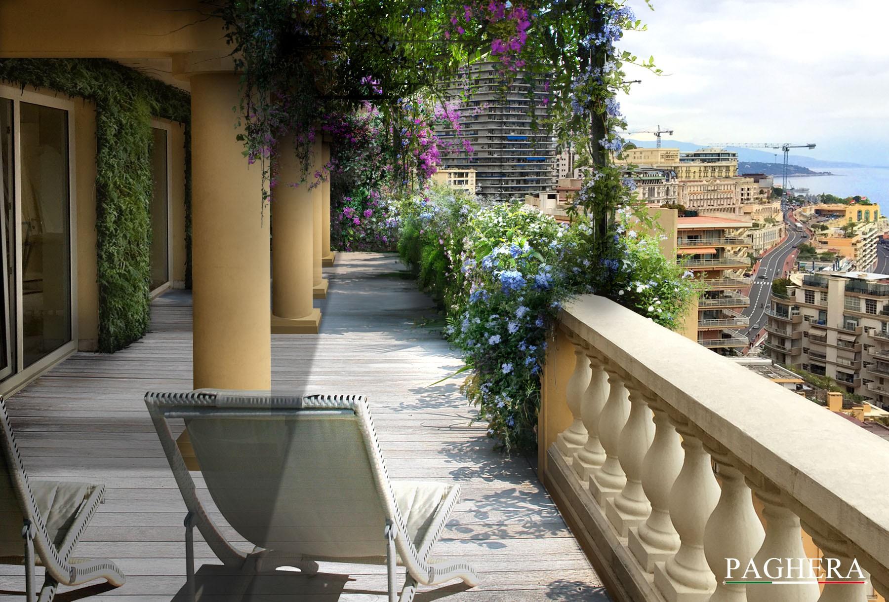 Montecarlo's sky - الشرفات