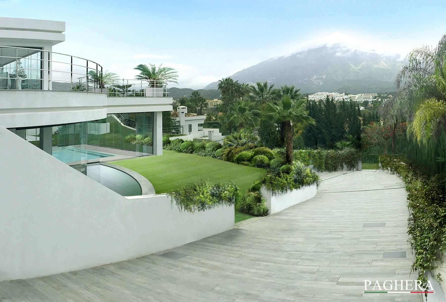 Modern geometries - Gardens