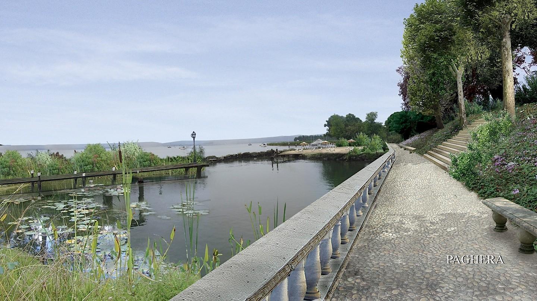 Incantevole atmosfera ispirata dal lago di Ginevra - Giardini