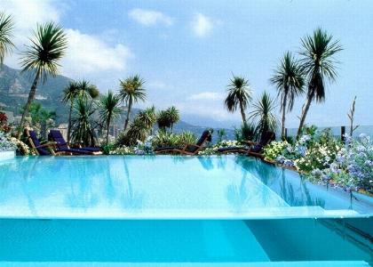 Crystal swimming pool