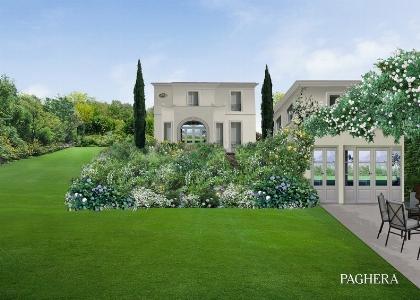 Una nuova veste per una villa for Paghera giardini