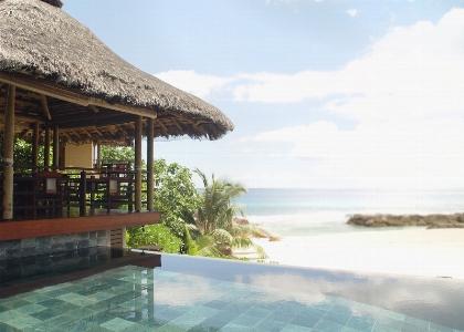 Piscina alle Seychelles