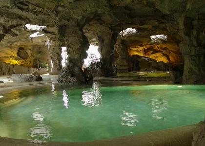 Una grotta per rinfrescarsi