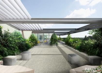 Una terrazza moderna, un diseg [..]